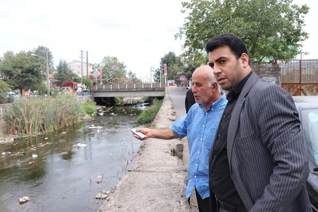 بازدید رئیس شورای اسلامی شهر از خمام رود